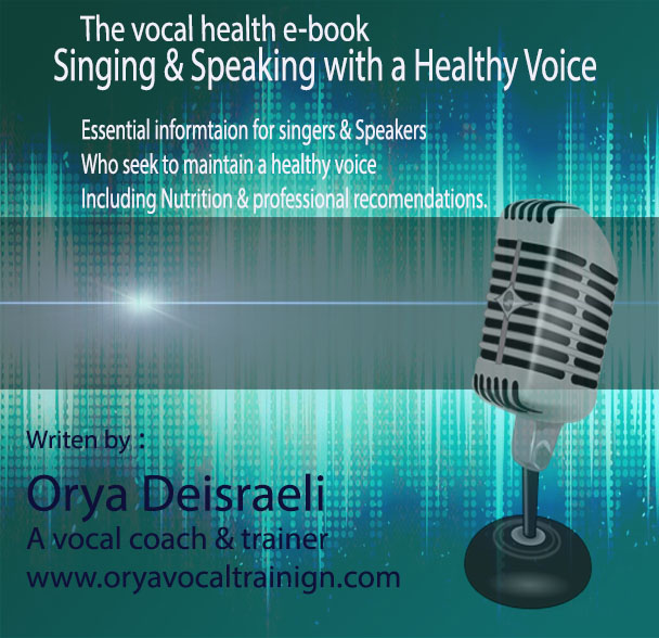 Purchase the E-Book Singing & Speaking with a Healthy Voice